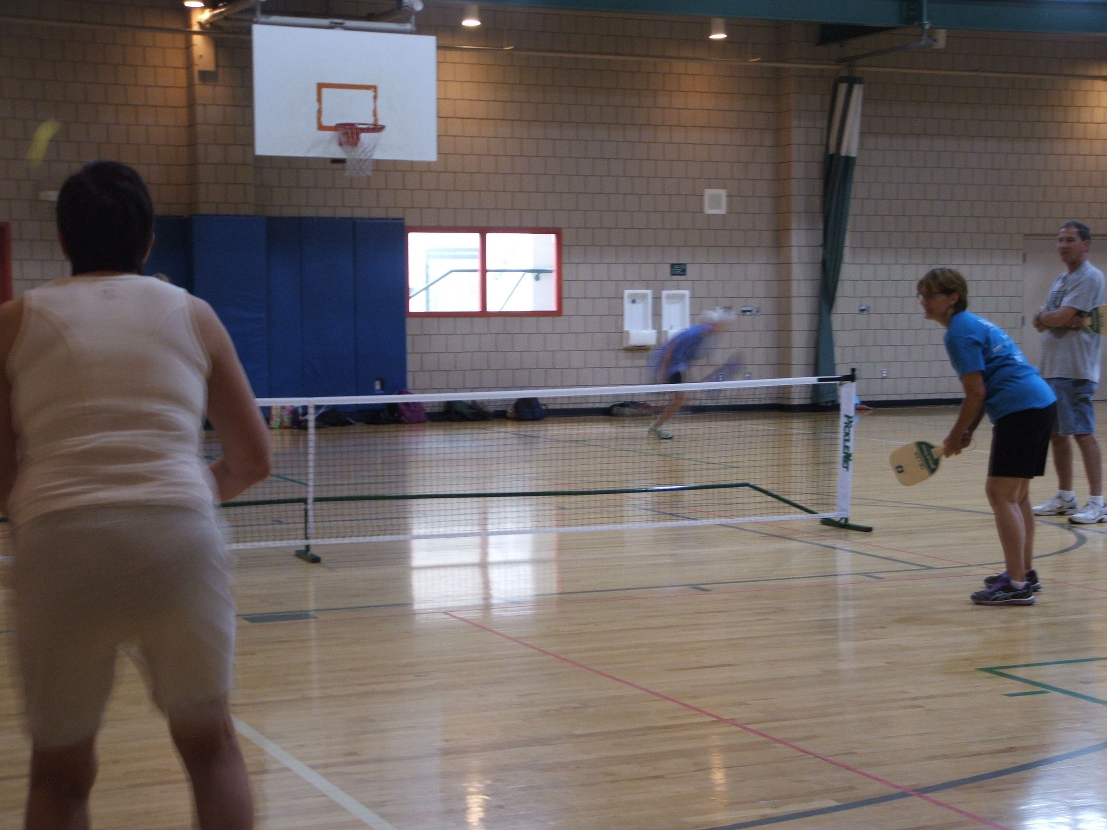 Pickleball in Main Gym
