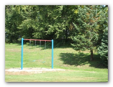 Swings at Central Park