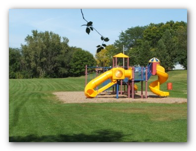 Play Equipment at Central Park